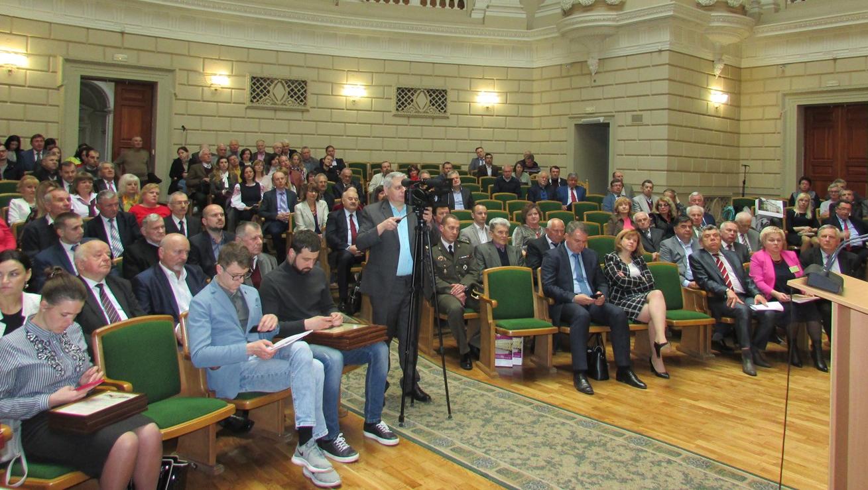 Урочисте засідання представників наукової громадськості Львівщини з нагоди Дня науки